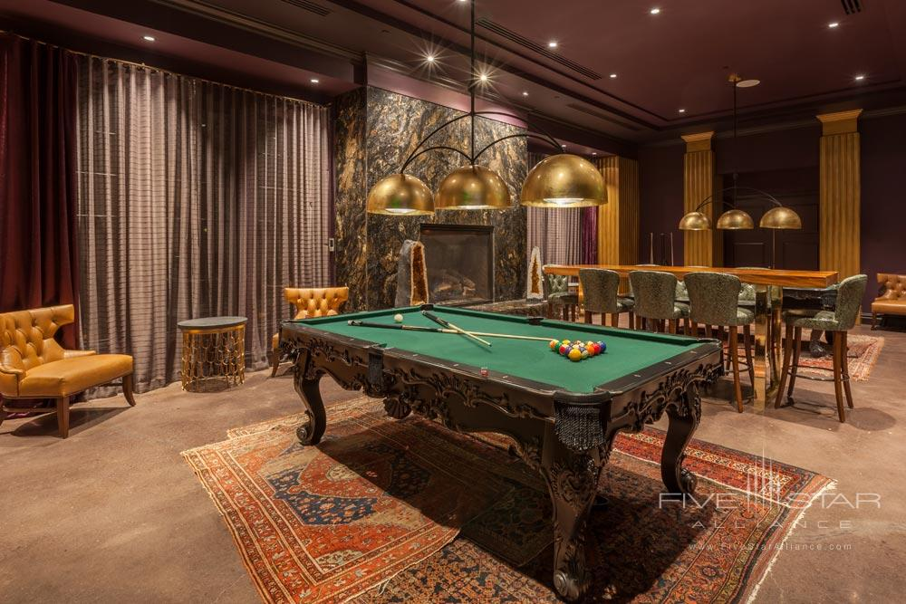 Billiards Room at Grand Bohemian Hotel Mountain Brook, Birmingham, AL
