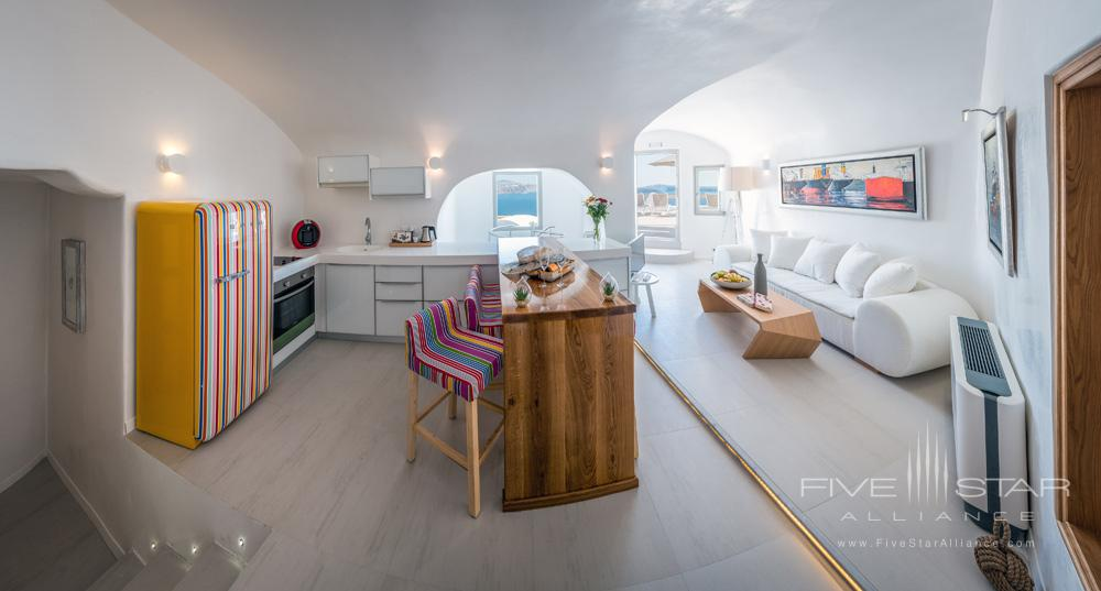 Presidential Suite at the Elite Luxury Suites Santorini