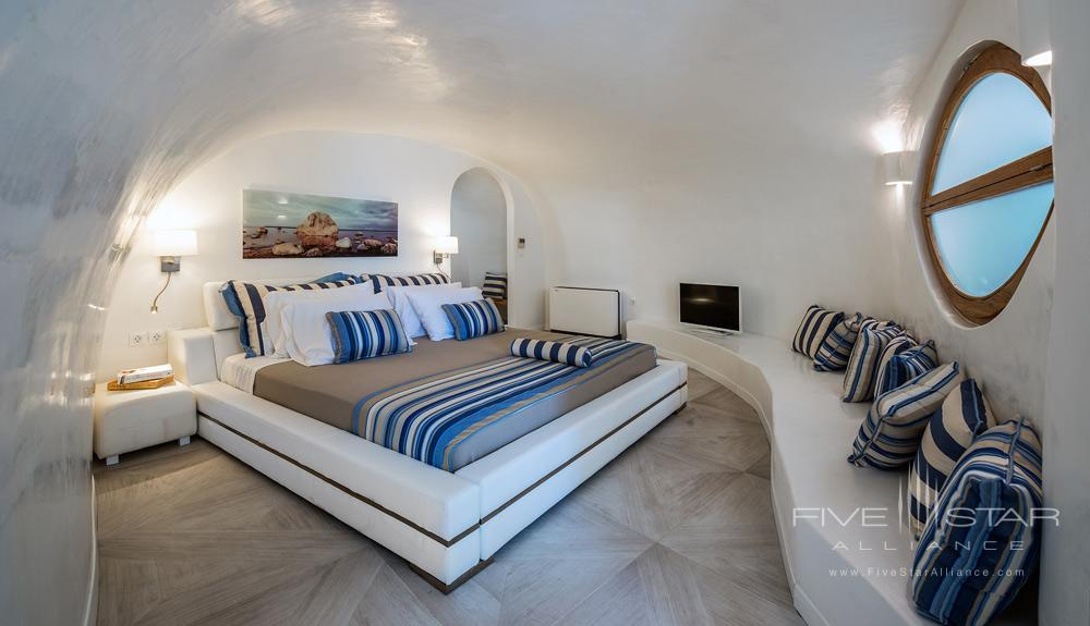 Elite Suite Bedroom at the Elite Luxury Suites Santorini