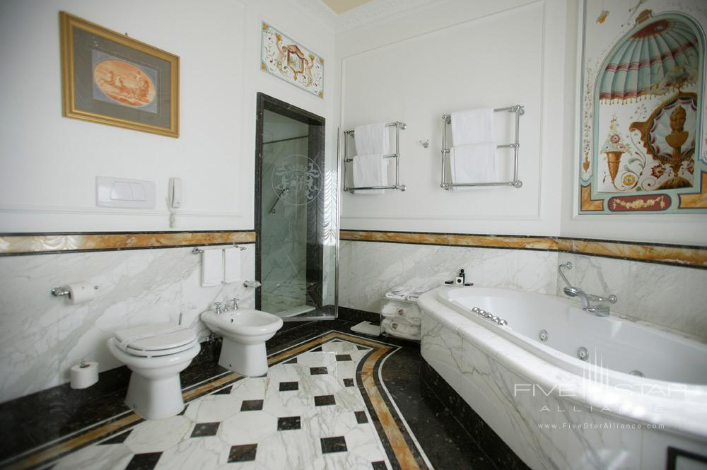 Suite Bath at Grand Hotel Majestic Gia Baglioni, Bologna, Italy