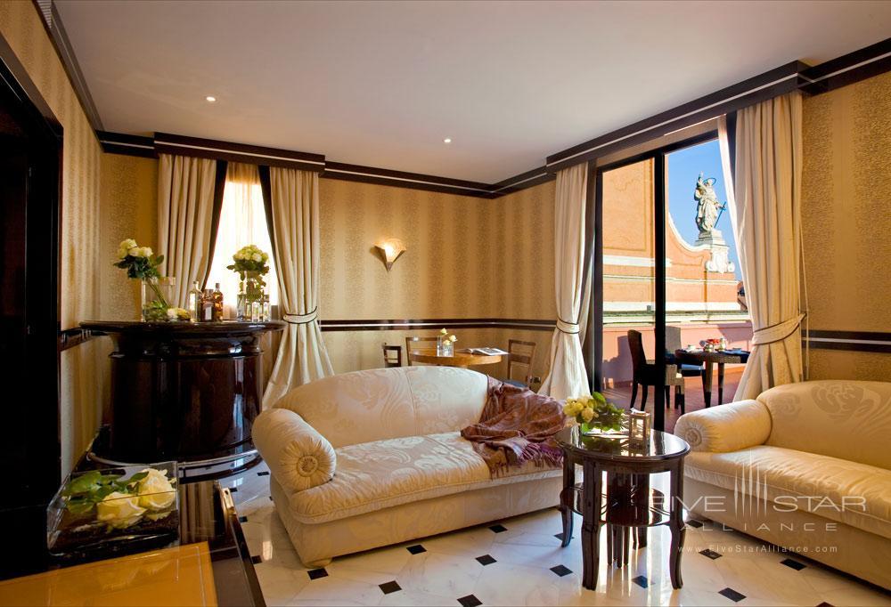 Terrace Suite at Grand Hotel Majestic Gia Baglioni, Bologna, Italy