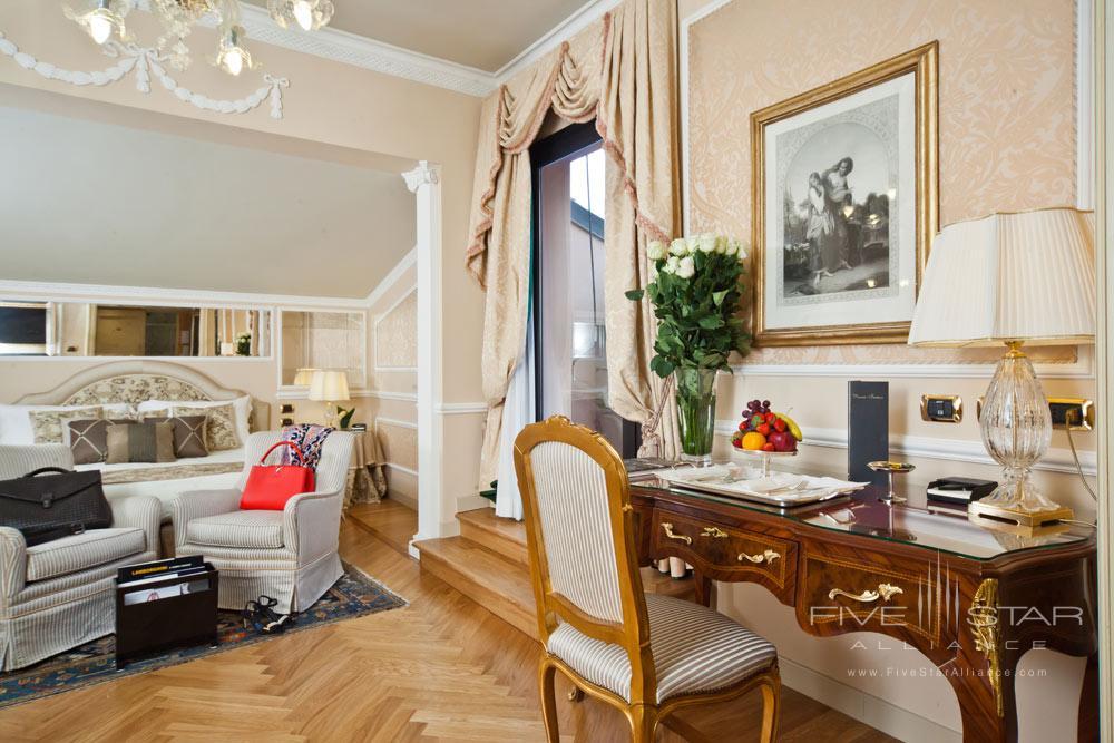 Deluxe Suite at Grand Hotel Majestic Gia Baglioni, Bologna, Italy