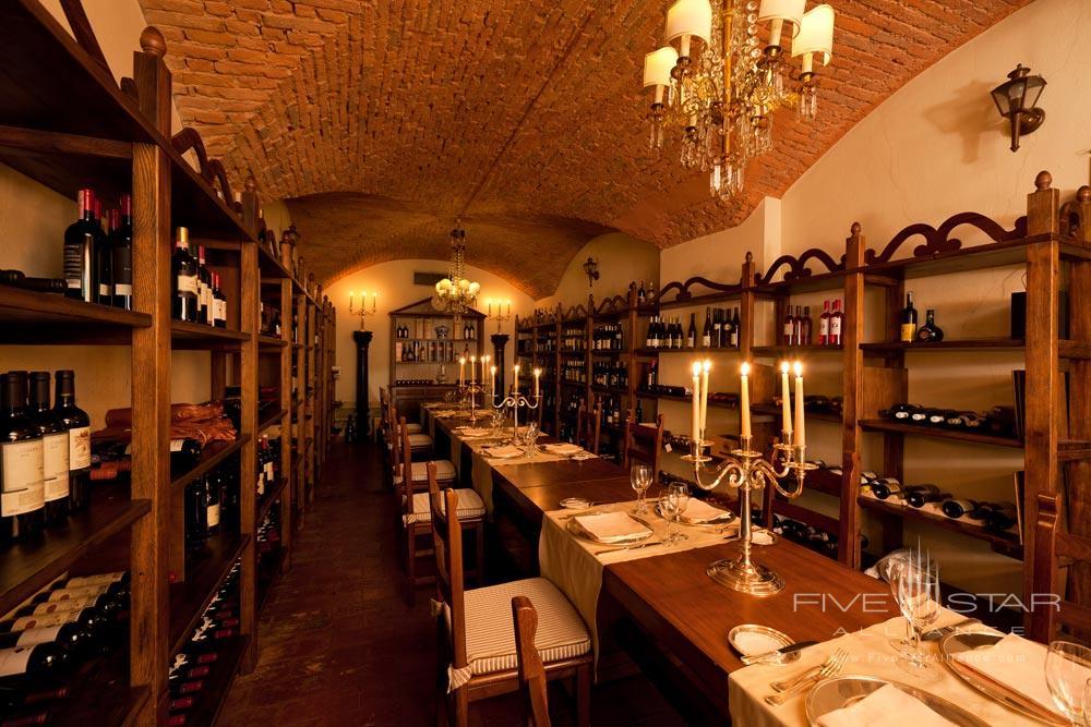 Wine Cellar at Grand Hotel Majestic Gia Baglioni, Bologna, Italy