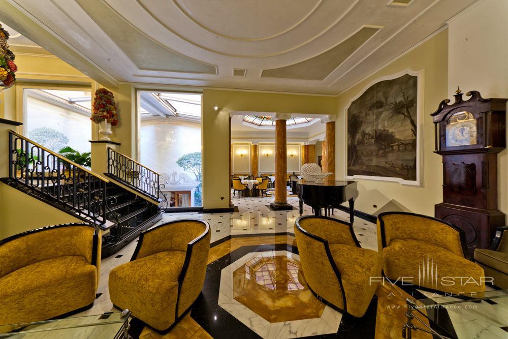 Majestic Lounge at Grand Hotel Majestic Gia Baglioni, Bologna, Italy