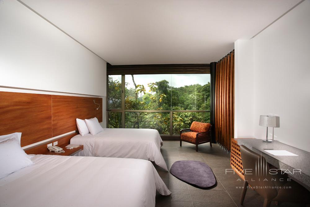 Wayra Twin Guest Room at Mashpi Lodge, Ecuador