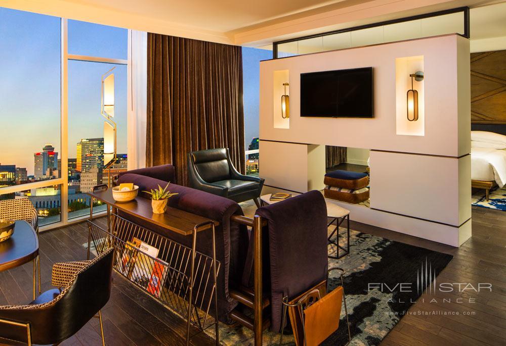 High Suite Living Room at Thompson Nashville, TN