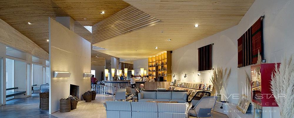 Lounge at explora AtacamaSan Pedro de Atacama, Chile