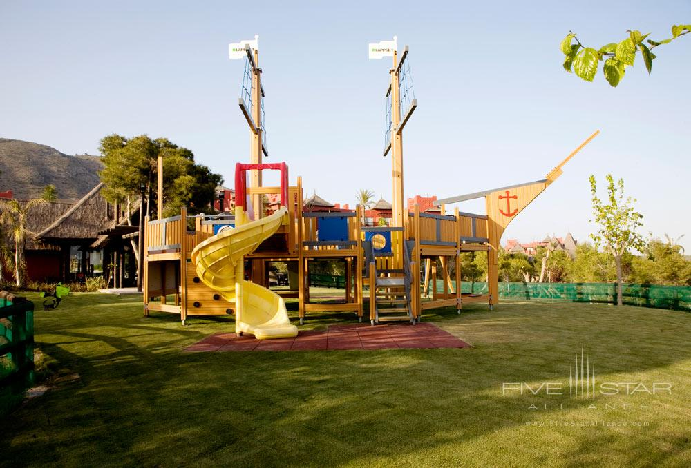 Childrens Play Area at Barcelo Asia Gardens and Thai Spa, Spain