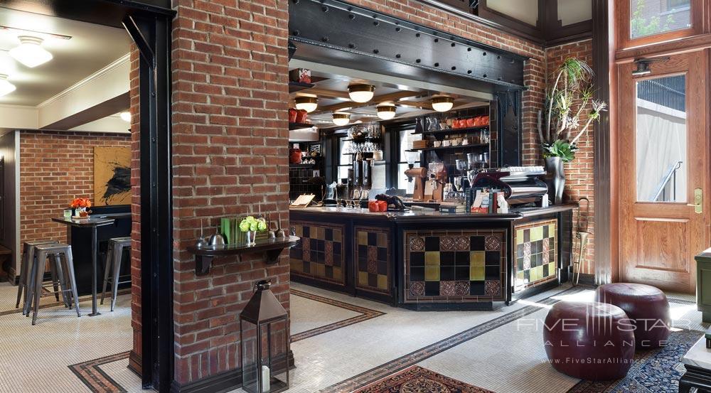 Intelligentsia Coffee and Tea Bar in The High Line Hotel Lobby, New York