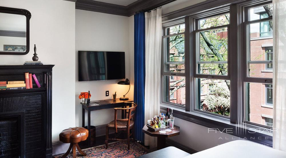 Deluxe King Guest Room at The High Line Hotel, New York