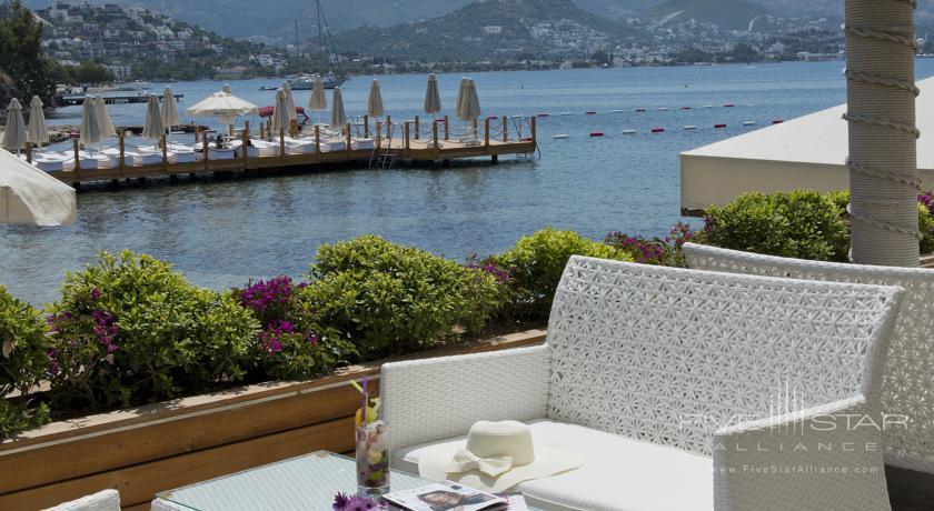 Lounge at Avantgarde Yalikavak Hotel, Turkey