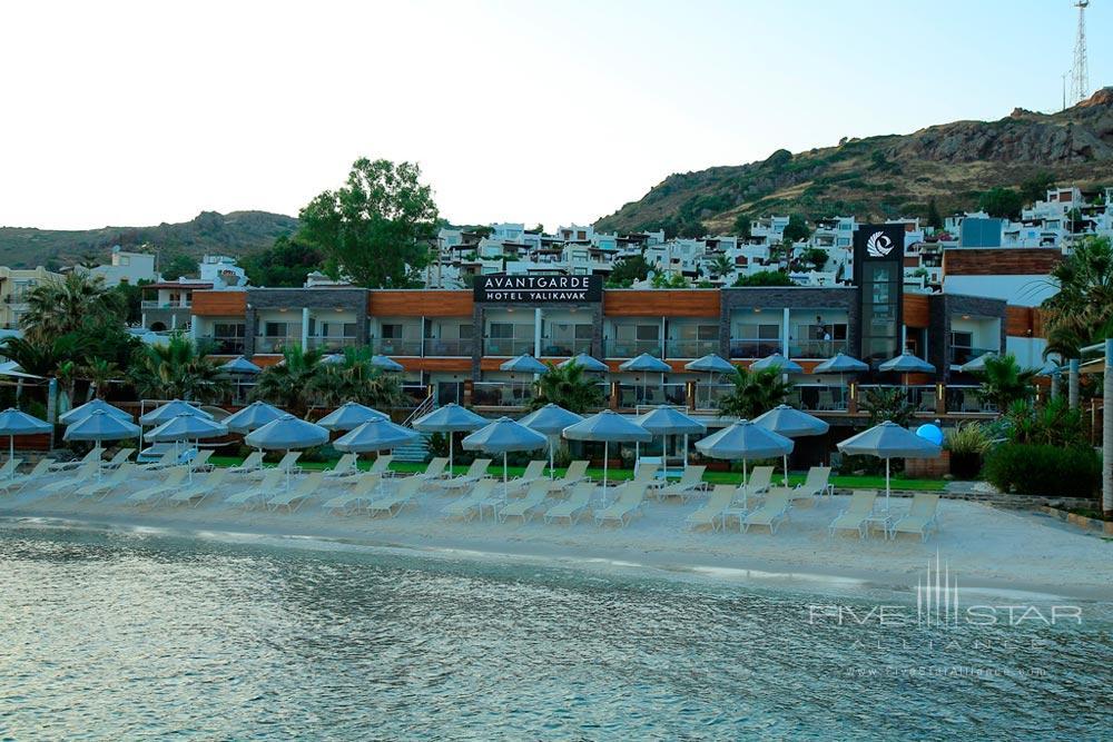 Beach at Avantgarde Yalikavak Hotel, Turkey