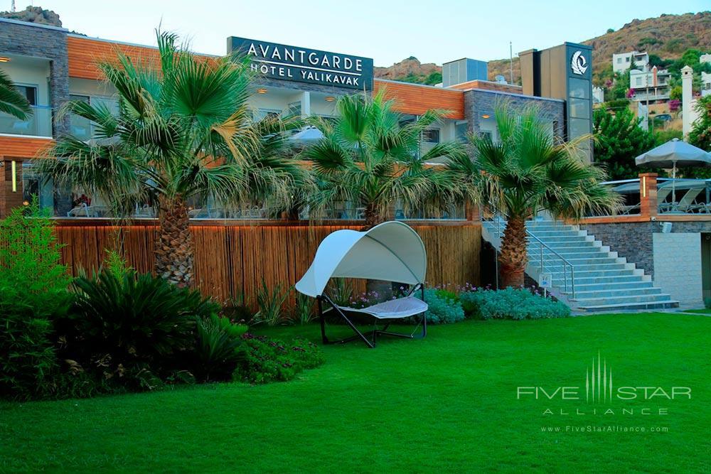 Garden Lounge at Avantgarde Yalikavak Hotel, Turkey