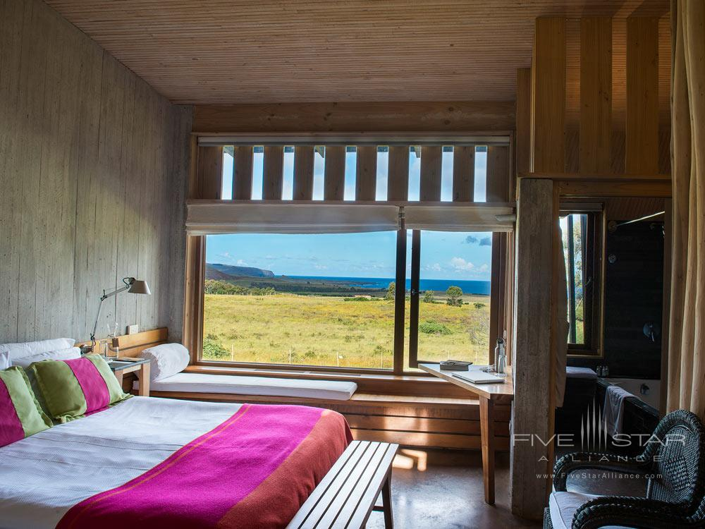 Guest Room at Explora Rapa Nui, Easter Island, Chile