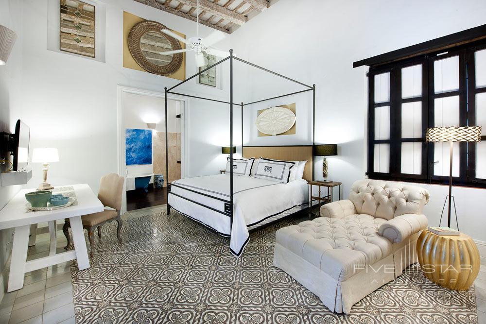 Guest Room at Casas del XVI, Santo Domingo, Dominican Republic