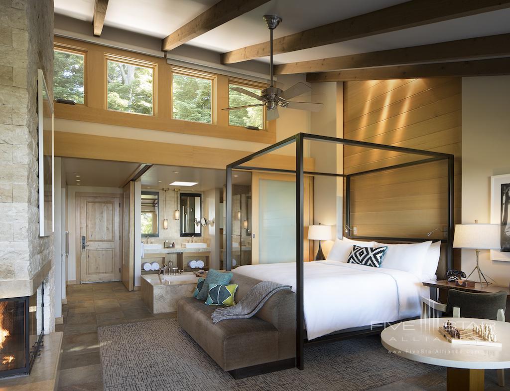 Ventana Big Sur Pacific House Guest Room