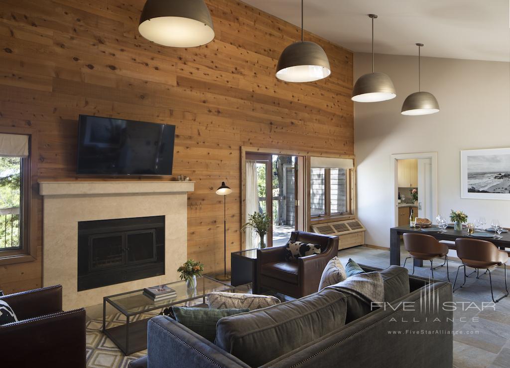 Coast House Living Room at Ventana Big Sur
