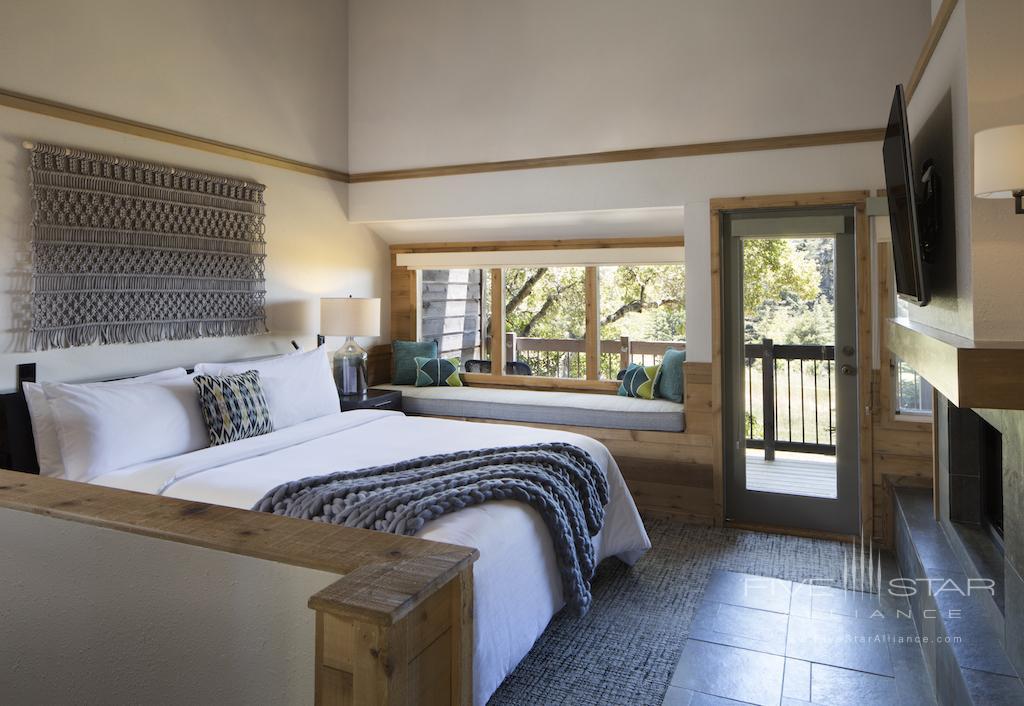 Big Sur Villa Bedroom at Ventana Big Sur