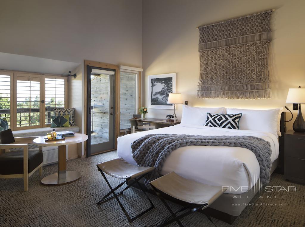 Ventana Guest Room at Ventana Big Sur