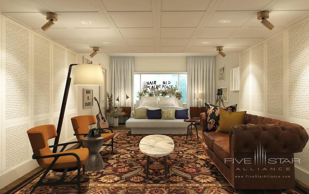 Fairmont The Queen Elizabeth Lennon Suite