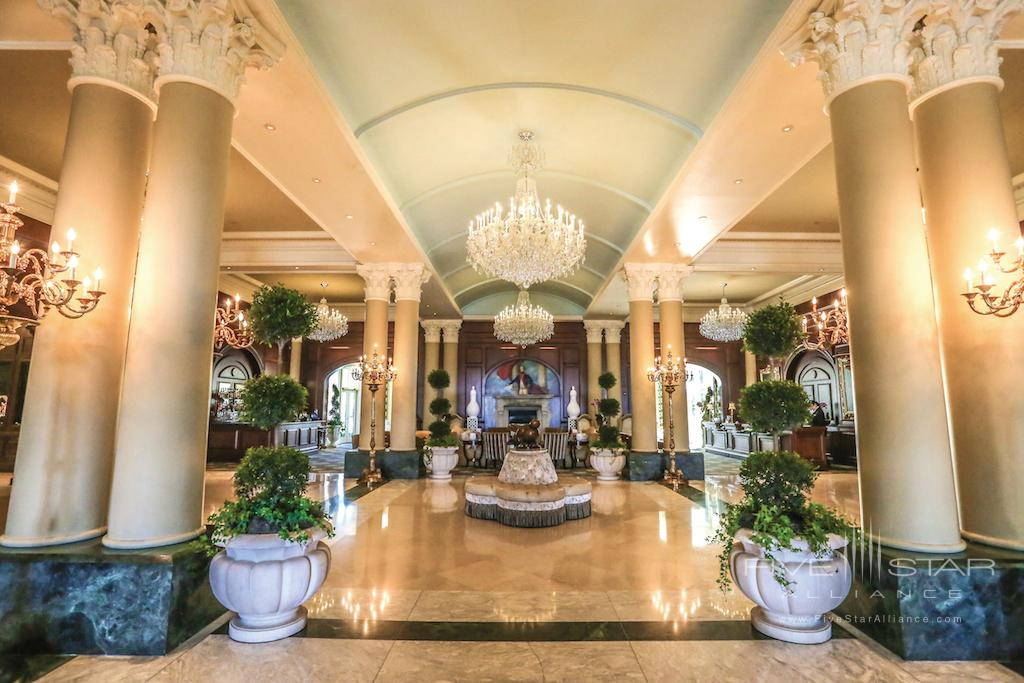 Chateau Lafayette Lobby at Nemacolin Woodlands Resort