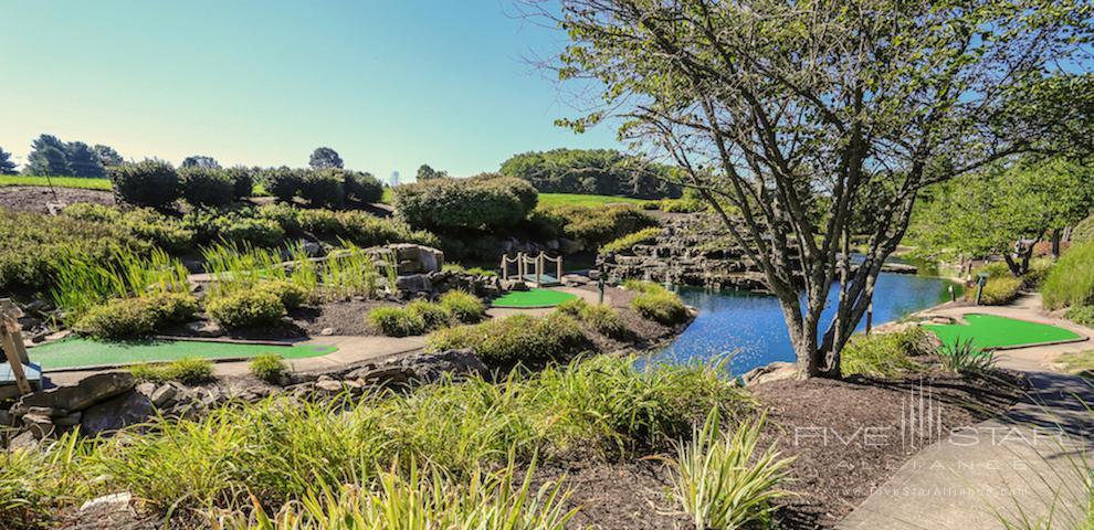 Minigolf Course at the Adventure Center, Nemacolin Woodlands Resort