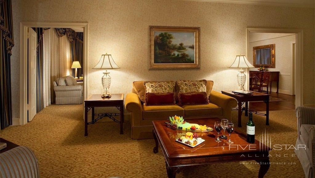 Presidential Suite at the Omni Shoreham Hotel