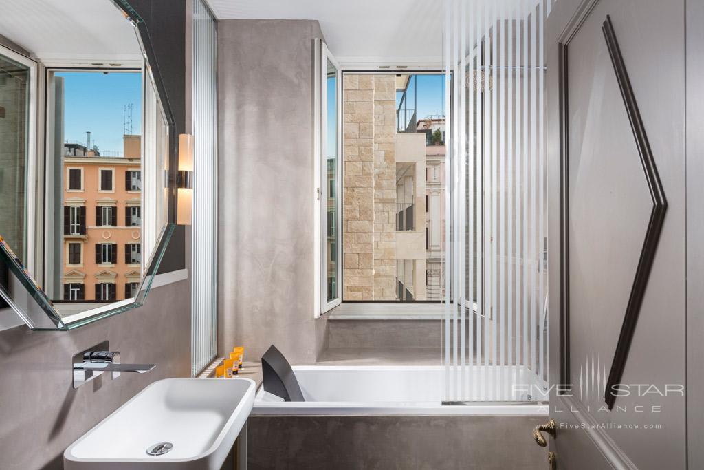 Prestige Guest Bath at Palazzo Manfredi, Rome, Italy