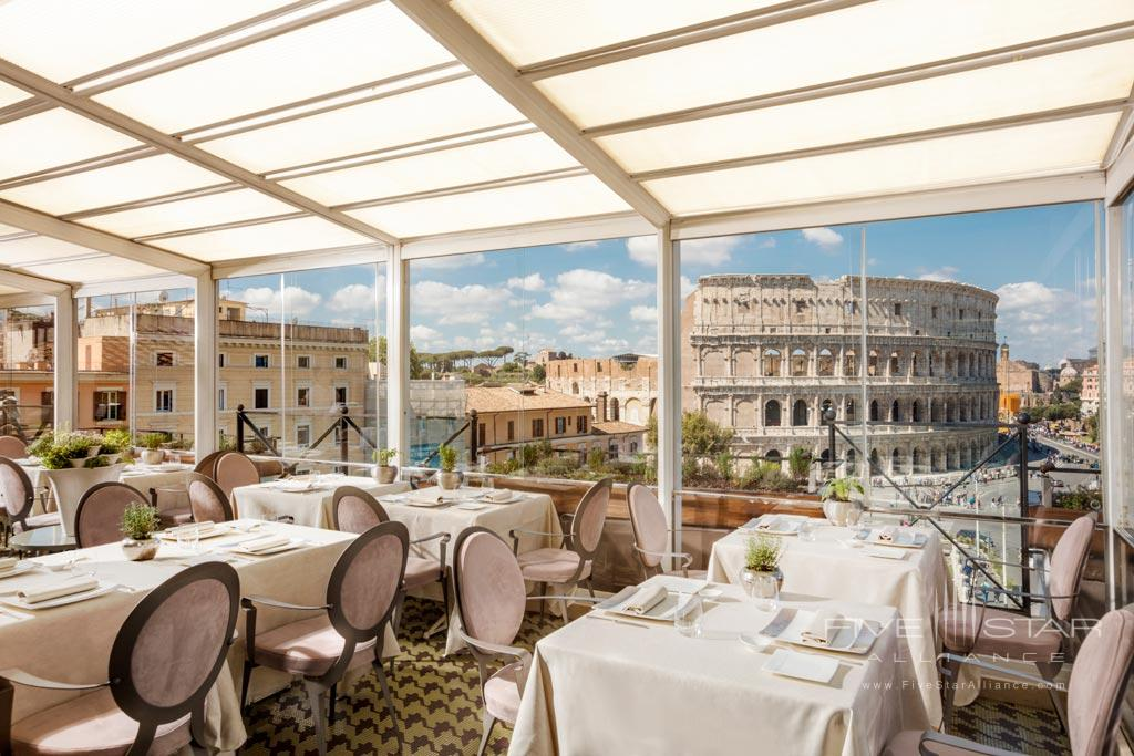 Dine with Views at Palazzo Manfredi, Rome, Italy