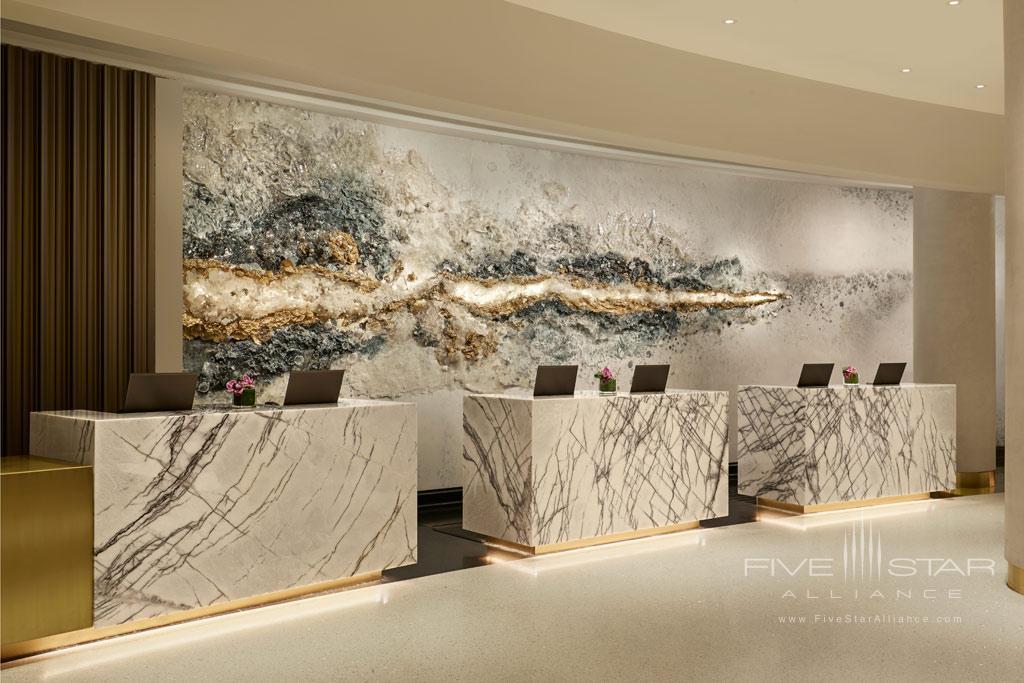 Lobby of Loews Miami Beach Hotel, Miami Beach, FL
