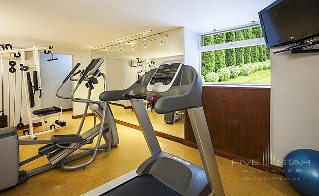 Fitness Center at Chateau Versailles Hotel, Montreal, Canada