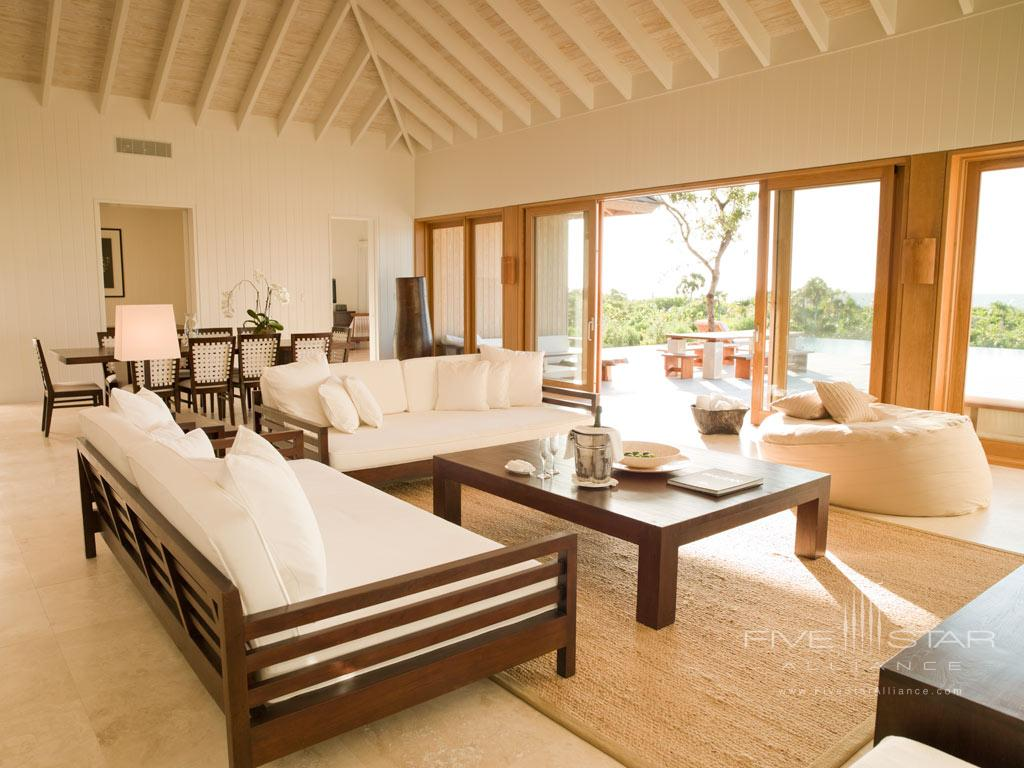 Three Bedroom Villa at COMO Parrot Cay, Providenciales, Turks & Caicos Island