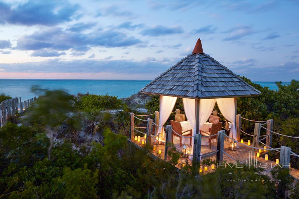 Tiki Hut Dinner at COMO Parrot Cay, Providenciales, Turks & Caicos Island