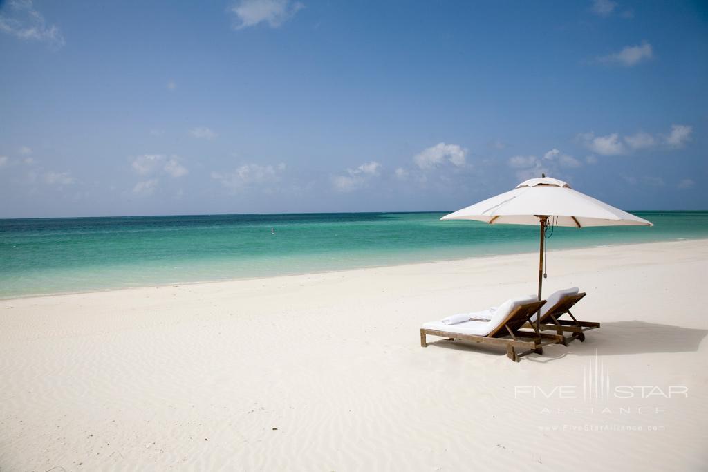 Beach Lounge at COMO Parrot Cay, Providenciales, Turks & Caicos Island