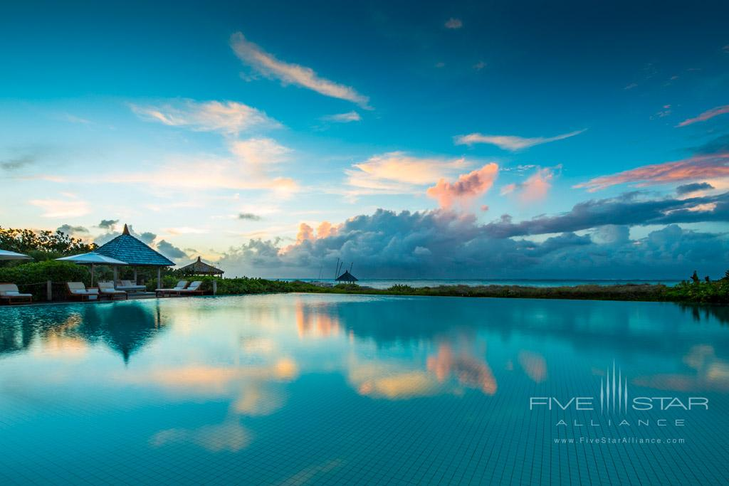Outdoor Pool at COMO Parrot Cay, Providenciales, Turks & Caicos Island