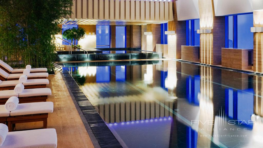 Indoor Pool at Park Hyatt Beijing, China