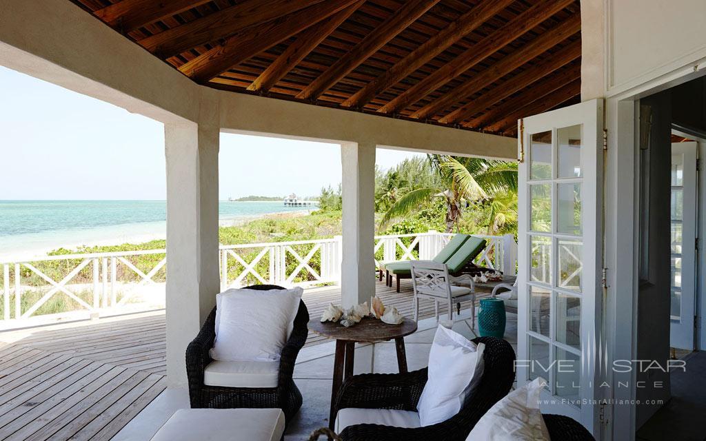 Terrace Lounge at Kamalame Cay, Andros, The Bahamas