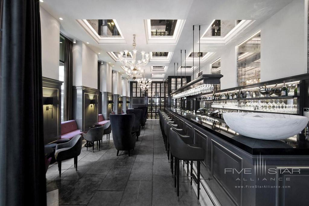 Bar at Hotel D'Angleterre Copenhagen, Denmark
