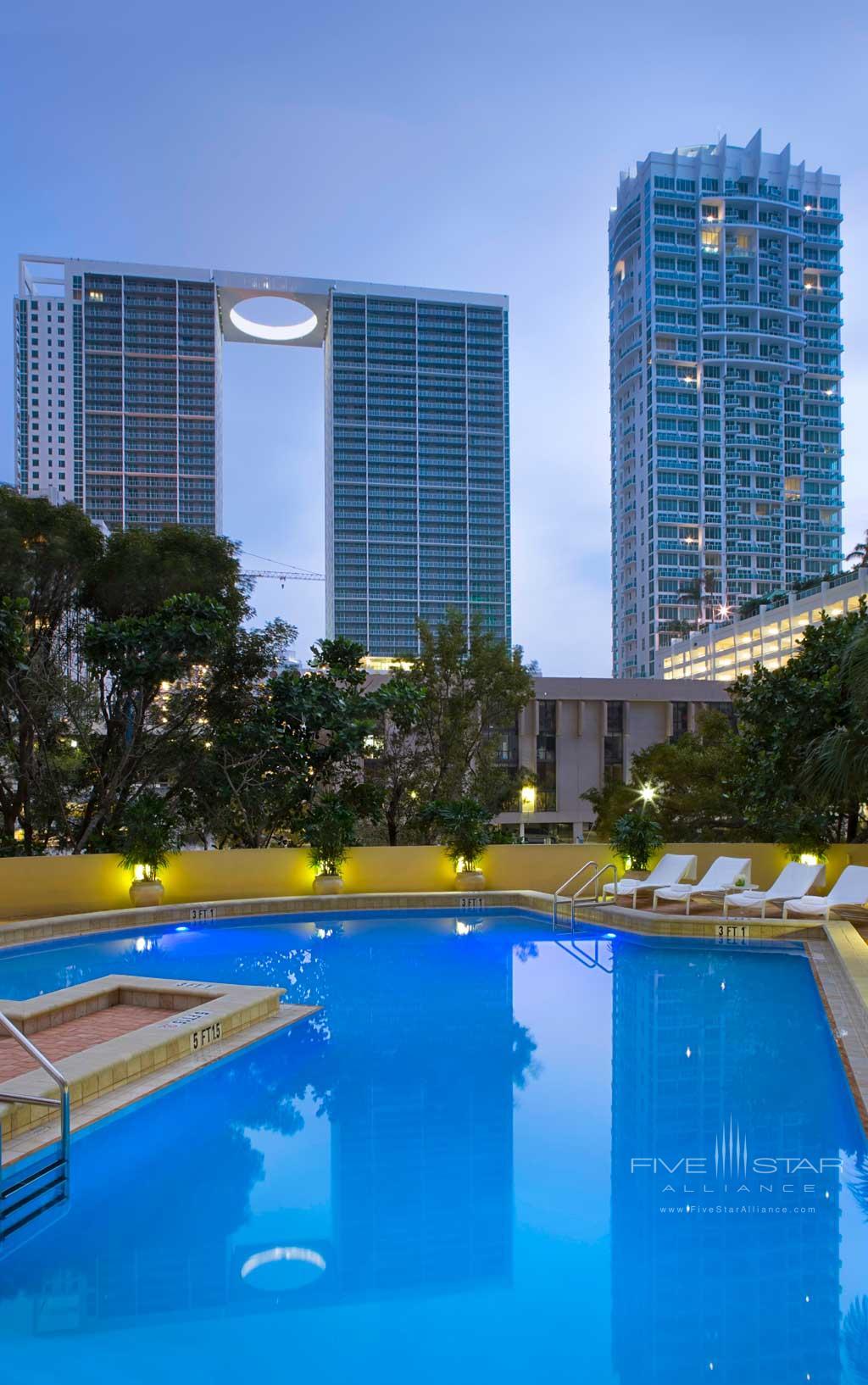 Outdoor Pool at Hyatt Regency Miami, Miami, FL