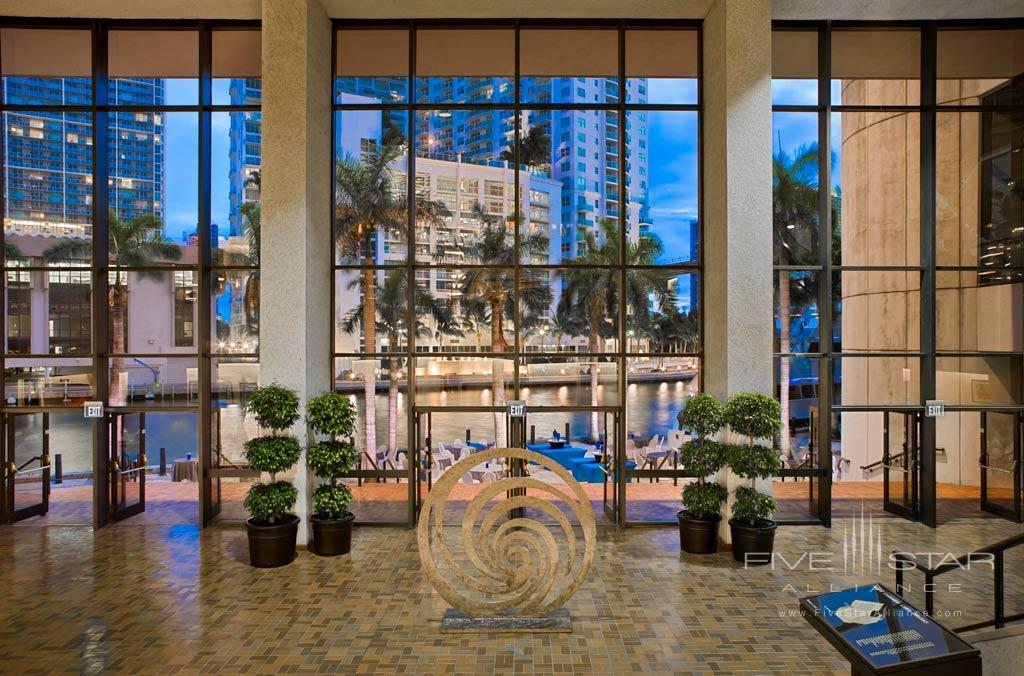 Lobby of Hyatt Regency Miami, Miami, FL