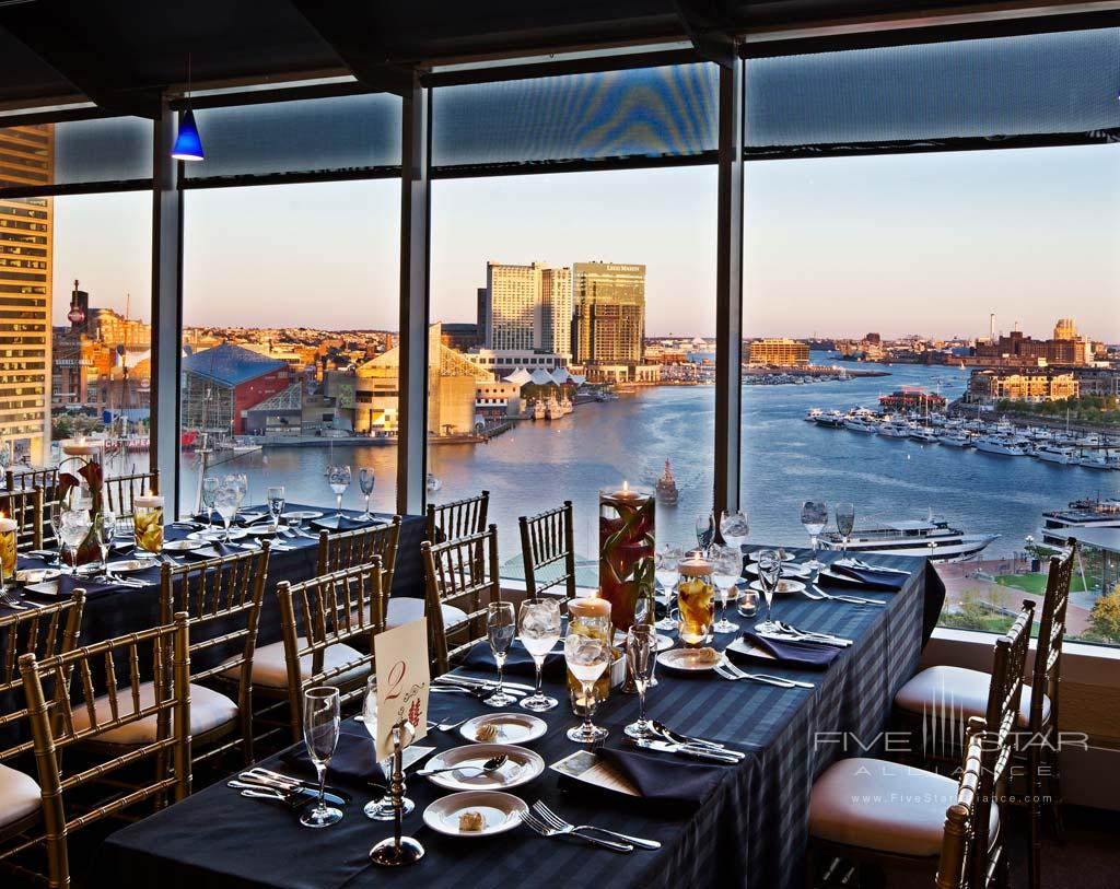Dine at Hyatt Regency Baltimore, Baltimore, MD