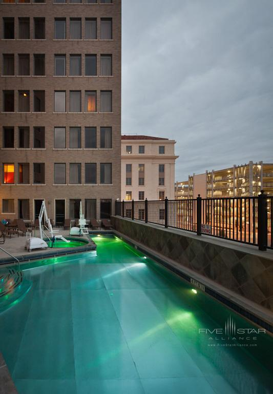 Outdoor Pool at Emily Morgan Hotel, San Antonio, TX