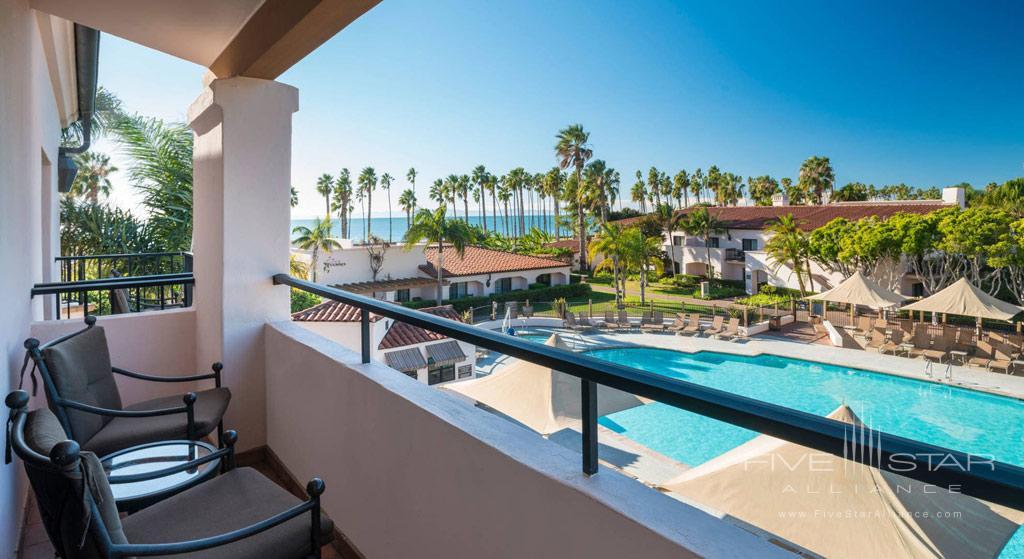 Pool View Guest Room at Fess Parkers Doubletree Resort, Santa Barbara, CA