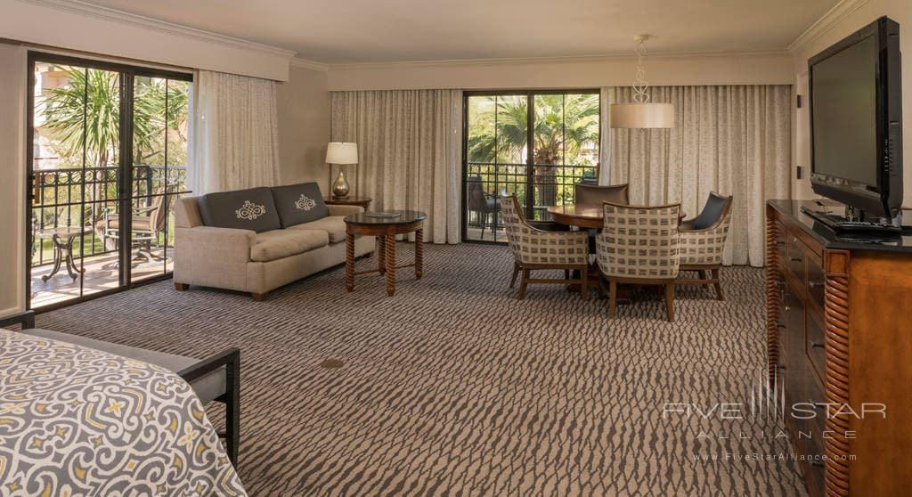 Resort View King Guest Room at Fess Parkers Doubletree Resort, Santa Barbara, CA