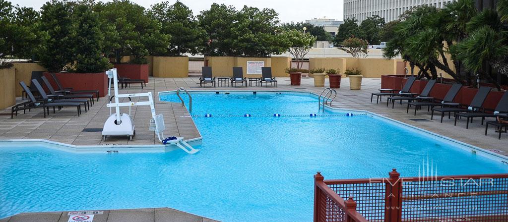 Outdoor Pool at Hotel Houston Greenway Plaza, Houston, TX