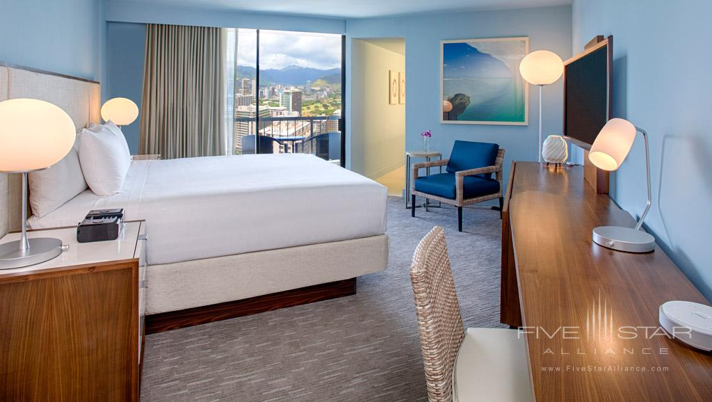 Guest Room at Hyatt Regency Waikiki Beach, Honolulu, HI