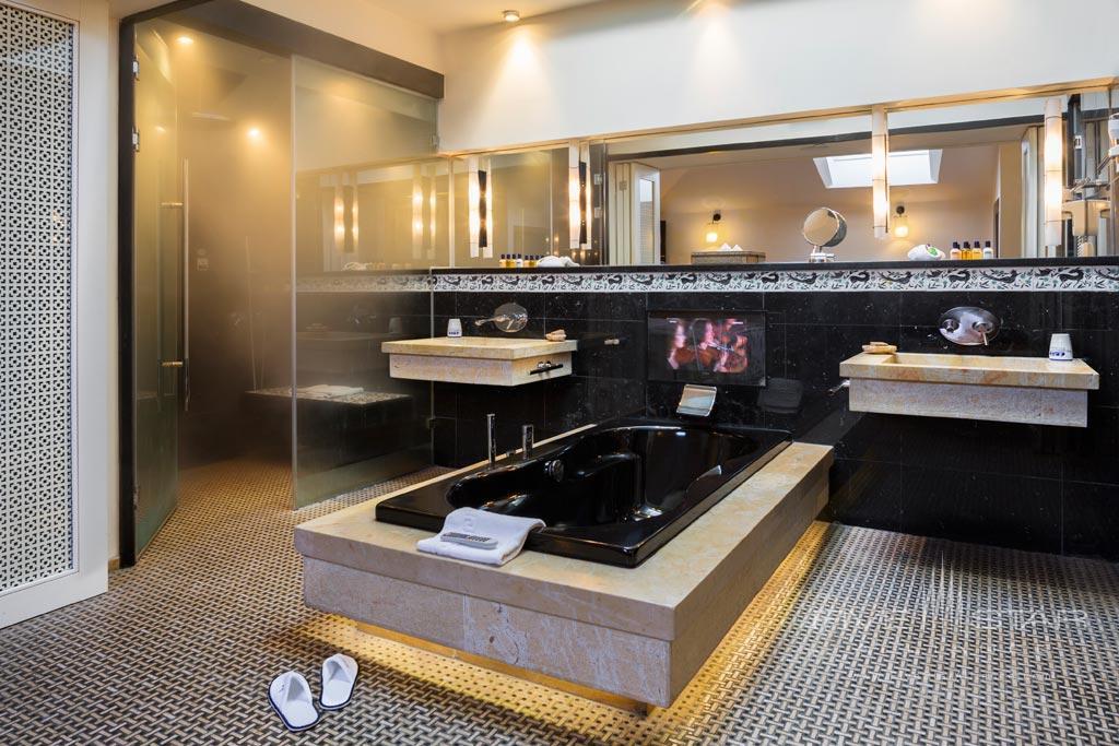 Suite Bath at American Colony Hotel, Jerusalem, Israel