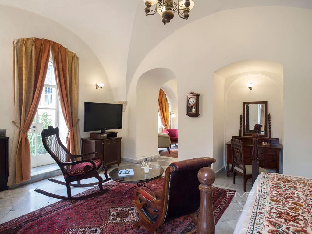 Suite Sitting Room at American Colony Hotel, Jerusalem, Israel