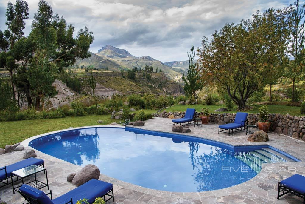 Outdoor Pool at Belmond Las Casitas, Arequipa, Peru