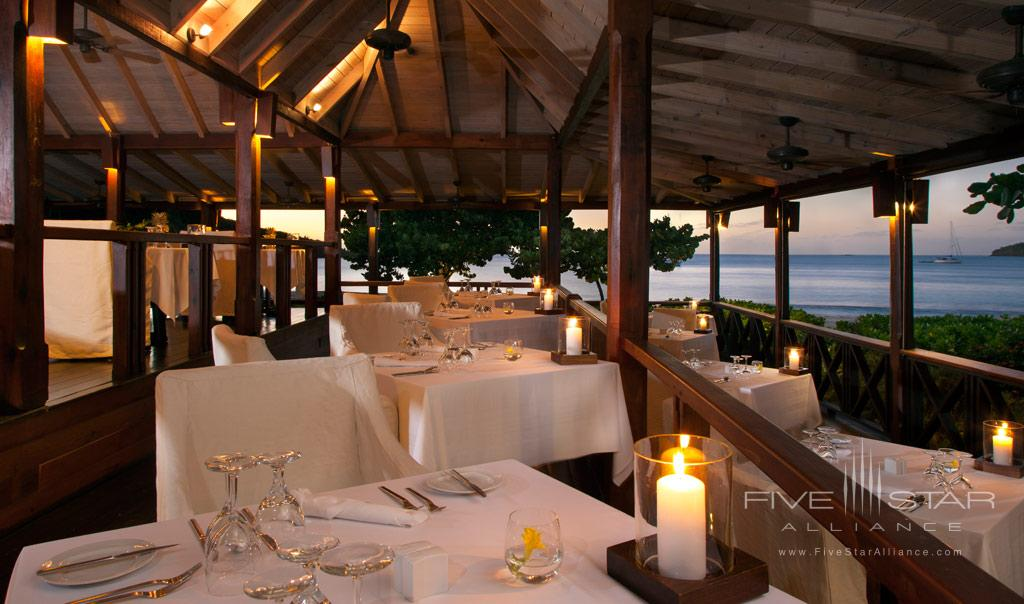 Dine at Hermitage Bay, Antigua & Barbuda